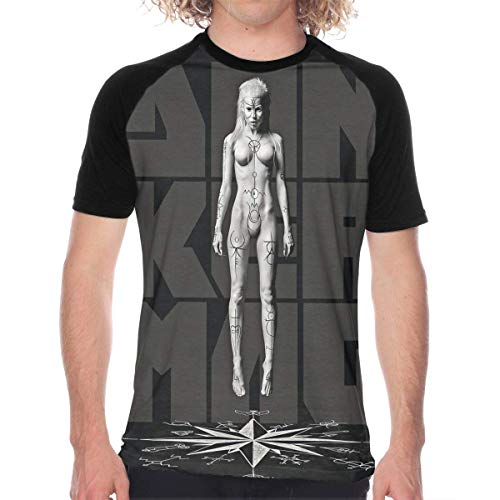 Welikee Camiseta, Manga Corta, Die Antwoord Donker mag Casual and Comfortable Unique Design Men's Baseball T-Shirt