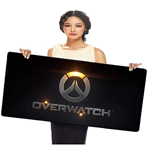 WYQLZ Gaming Mouse Pad Overwatch OW Logo Game Large Mouse Mat Keyboard Mat Cafe Mat Extended Mousepad for Computer Desktop PC Mouse Pad (Size : 7003003mm)