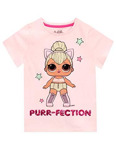 Preisvergleich Produktbild LOL Surprise Mädchen T-Shirt Rosa 128
