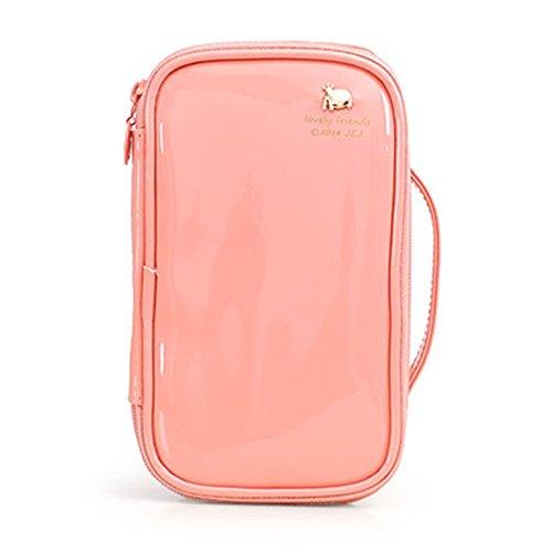 XJ-Kosmetiktasche-2 FYX PU Leder Multifunktionale Handtasche Make Up Organizer Kosmetiktasche für Kosmetik Aufbewahrung von Höher Quilität für Reise und zu Hause