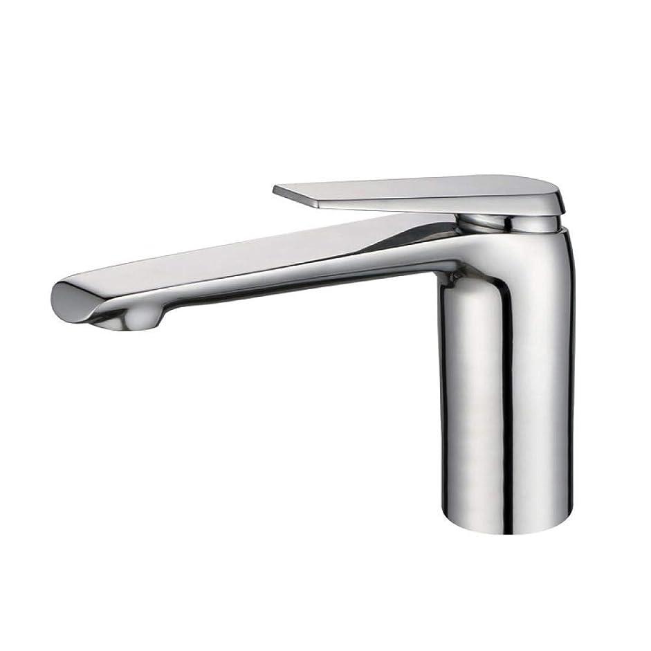 不正確付属品ダイヤモンドHF-ZEN 立体水栓 万能水栓 バスルームのシンクは、スロット付き浴室の洗面台のシンクホットコールドタップミキサー流域の真鍮シンクミキサータップ非震とう浴室蛇口のすべての銅メッキ単穴流域ミキサータップ