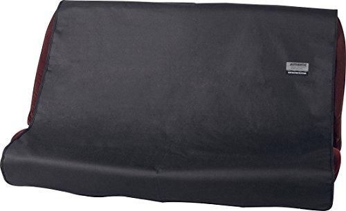 ボンフォームシートカバーファインテックス軽/普通車後席単品防水取付簡単丸洗いOKリヤ125X150CMブラック4361-04BK