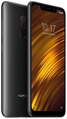 Xiaomi Pocophone F1 128GB Graphite Black, Dual Sim, 6GB RAM, Dual Camera, 6.18', GSM Unlocked Global Model, No Warranty