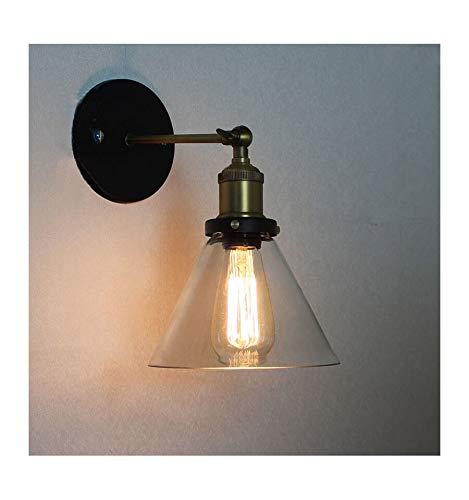 Lampe murale Marron g9 Verre DEL méditerranéenne blanc chaud