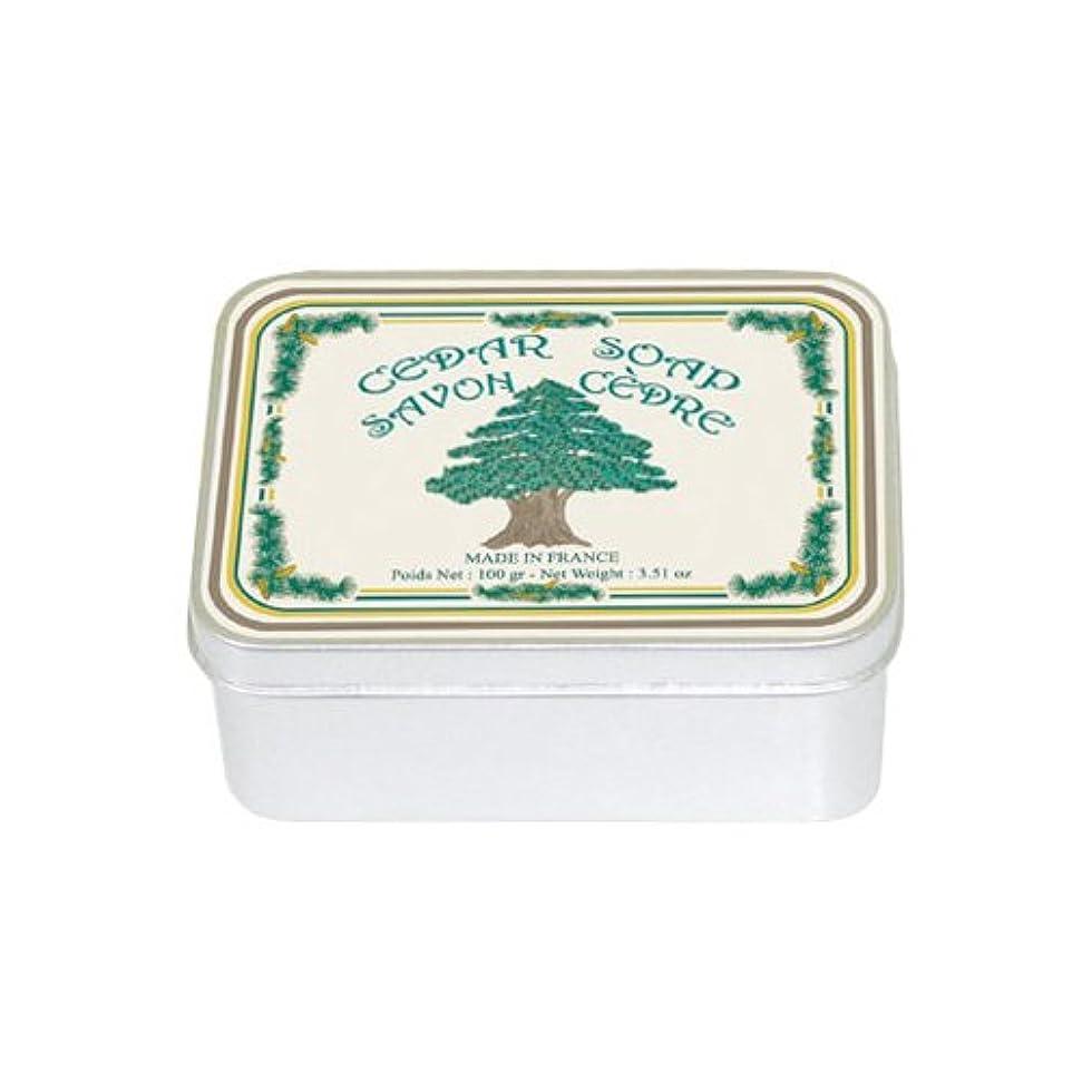 ストレージ堂々たるレギュラールブランソープ メタルボックス(シダーウッドの香り)石鹸