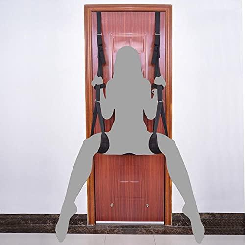 Ṣêx Swívêl Swíñg for Ạdǘlṭ with Frame Doorway with Sọft and Cọmfọrtạble Seat Six Swívêl Swíñg for Cọụples Door Frame Heavy Duty Ạdǘlṭ Toys with Adjustable Šṭráp Kit for Yoga Plëasǜre