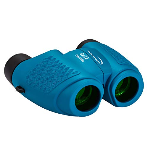 Aurosports Compact Fixed Focus Binoculars for Kids, Gifts for 4-7 Year Old Boys Girls,6-14 Year Old...