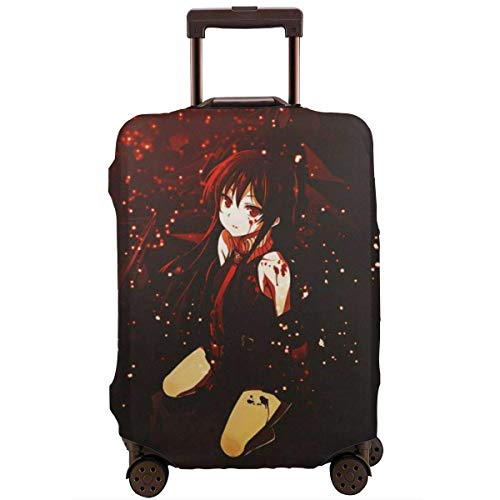 IUBBKI Travel Luggage Cover Anime Akame Ga Kill Suitcase Cover Protector Washable Baggage Luggage Covers Zipper Fits L
