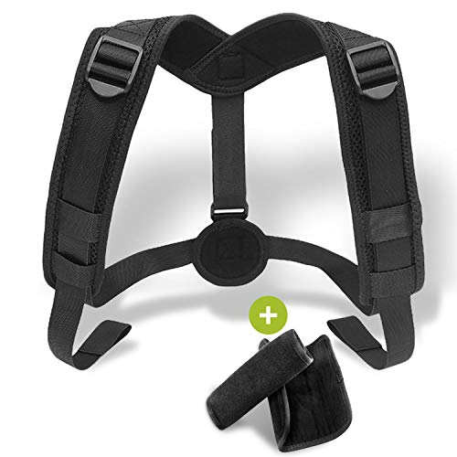 Posture Corrector Brace for Women & Men - Adjustable Upper Back Support to Improve Bad Posture - Comfortable Device for an Upright, Natural & Proper Posture …