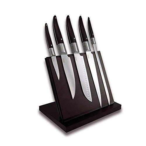 Conjunto de 6 Cuchillos de Mesa Laguiole Evolution 443880 Laguiole Acidule