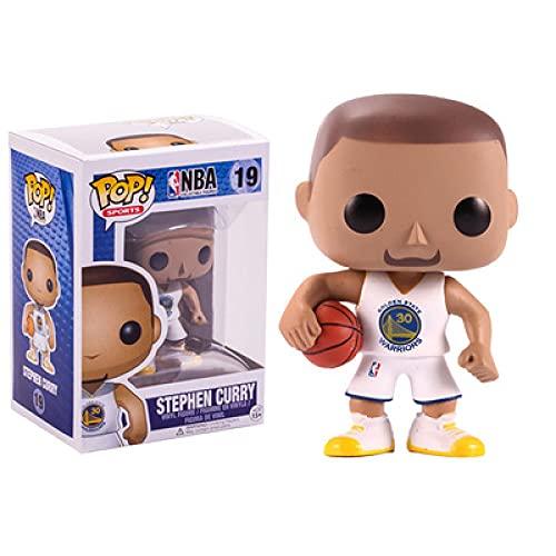 MFX Funko Pop NBA Kobe Stephen Curry Figure Decorazioni per La Stanza Regalo di Compleanno di Halloween Superstar del Basket