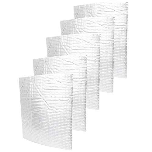 Socobeta - Tappetino isolante in cotone, resistente al freddo, in cotone, autoadesivo, anti-esplosivo, 5 pezzi, per stampanti 3D (235 x 235 mm)