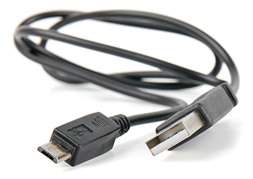 DURAGADGET Práctico Cable Micro USB De Sincronización De Datos para Portátil MSI 6Qe, 6QF, GE62VR, GL62 7QF, GS32, GS43VR, GS60, GS63, GS70, GS72, Leopard, Apache, Shadow, Stealth, Pro, Gost,