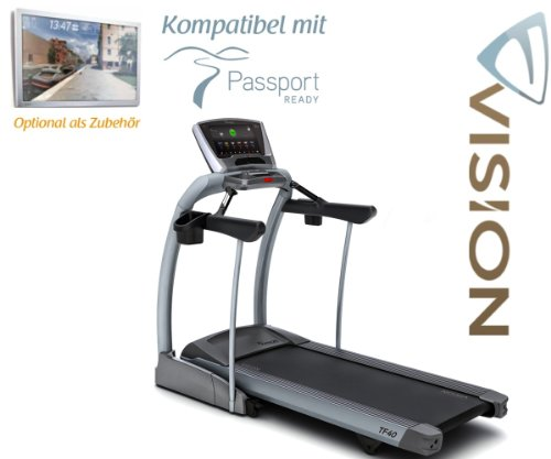 Vision Fitness TF 40 Elegant Laufband - Passport Ready Kompatibel