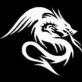 (2 Stücke/schwarz) 20 cm * 16,8 cm Drache Winged Styling Autoaufkleber Auto, Vinyl Aufkleber Aufkleber Mit Wasserdicht Und Reflektierend, Für Laptop, Motorrad, autofenster Mit