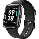 Lintelek Smartwatch mit Eingebautem GPS 5ATM Wasserdicht Smart Watch mit...