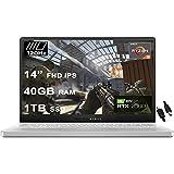 2020 Flagship Asus ROG Zephyrus G14 VR Ready Gaming Laptop 14' FHD 120Hz AMD 8-Core Ryzen 9 4900HS (I7 10750H) 40GB RAM 1TB SSD RTX2060 Max-Q 6GB Backlit Wifi6 Win10 + iCarp HDMI Cable