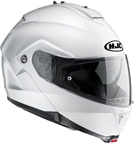 Hjc is MAX II Pearl White Ryan L (59/60)