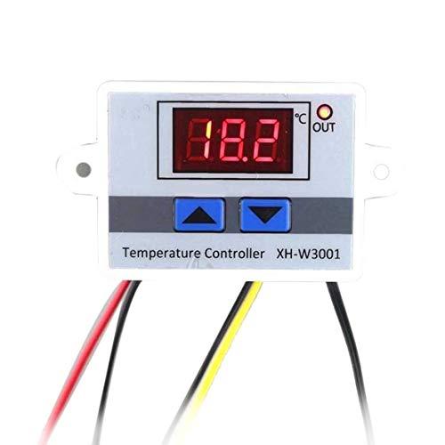 Pennytupu LED Digital Regulador de temperatura Termostato Interruptor de control Cable de la sonda impermeable Conectar el sensor de temperatura de alta sensibilidad