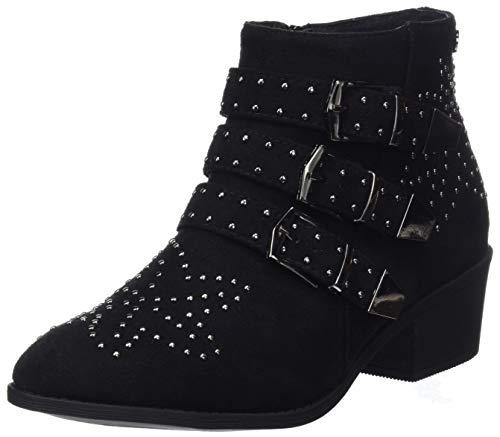 XTI 48560, Botines Mujer, Negro (Black), 36 EU (Zapatos)