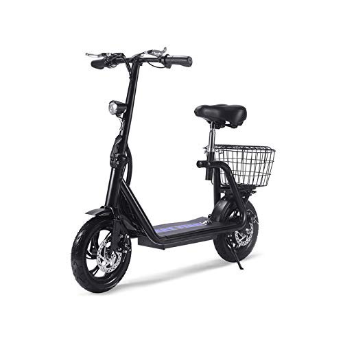 TOXOZERS Adult Electric Scooter 350w brushless Motor 36V Up to 15 mph Electric Bike for Commuter...