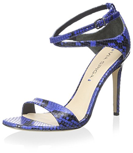 Via Spiga Damen Tiara Knöchelriemen Kleid Sandale, (Kobalt), 37.5 EU