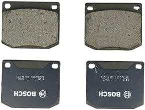 Bosch BP2B QuietCast Premium Semi-Metallic Disc Brake Pad Set For Select Austin Healey; Elva; Ford; Lotus; Marcos; MG; Morgan; Reliant; Rolls-Royce; Saab; Sunbeam; Triumph; TVR; Front