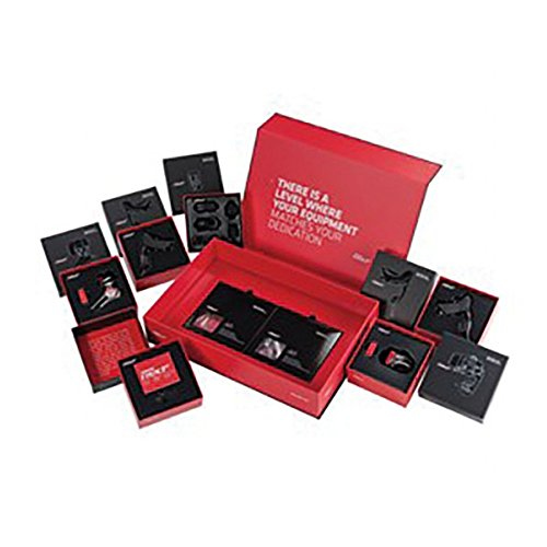 SRAM Etap Pack con Desviador, Cambio, Maneta, Cargador Baterías, Multicolor, M