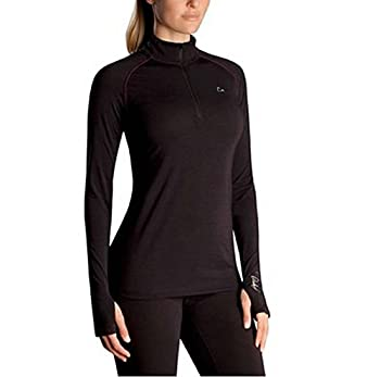 PARADOX Base Layer Top for Women - Black  Small