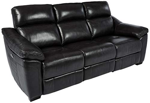 Homelegance 9805 Power Double Reclining Sofa, 86' W, Dark Gray