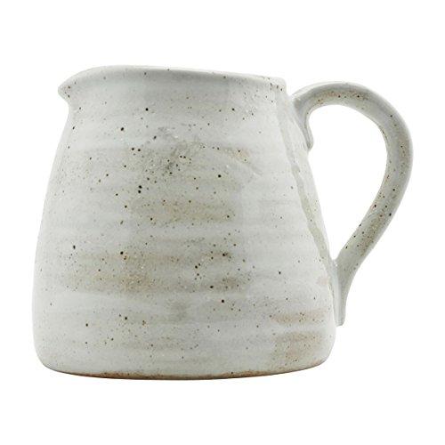 House Doctor - Karaffe, Krug, Pitcher - Made - Keramik - mit schöner individueller Glasur - Höhe: 15 cm