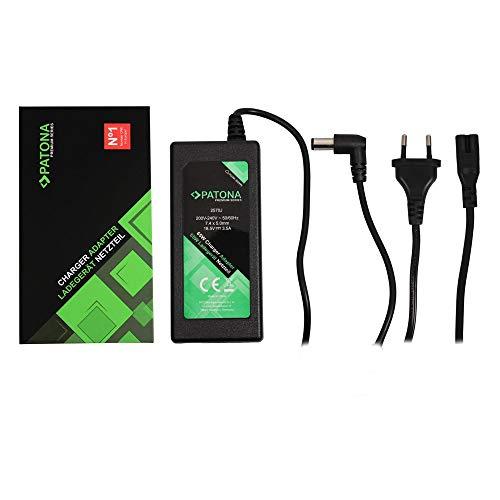 PATONA Premium Netzteil 18,5V 3,5A 65W für HP NX6115 NX6315 NX6320 NX6330 NX7300 Ladegerät NC2400 NC4400 NC6310 NC6400, NC8430, NX6115, NX6315 NX6320 NX6325 NX7400 NX9420 NW8440 NW9440 Notebook Laptop