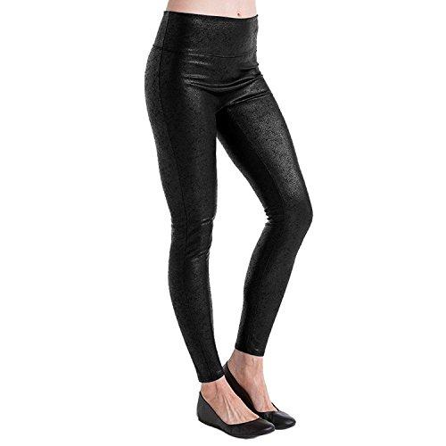 Spanx Spanx Damen Formende Leggings Schwarz Very Black XL