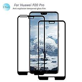 QukuaiYK Verre Trempé Huawei P20 Pro, [2 Pièce] [Dureté 9H] [sans Bulles] [Anti-Empreinte] Film Protection en Verre Trempé écran pour Huawei P20 Pro