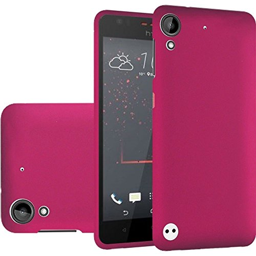 FastSun Hard Snap on Cover Phone Case for HTC Desire 530 550 630 D530u A16 (Pink)