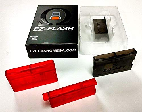 EZ Flash Omega RED Transparent Color - Limited Quantity - While Supplies Last