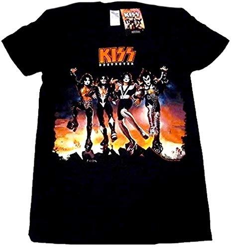 【KISS】キッス オフィシャルバンドTシャツ#001 (L)