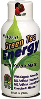 Nature's Answer Green Tea Energy Shot with Mixed Berries | Dietary Supplement | No Artificial Colors, Flavors or Sweetener...