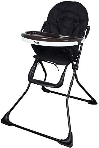 Ding Nemo Babyhochstuhl klappbar, mit Tisch, ab 6 Monate, schwarz 6200