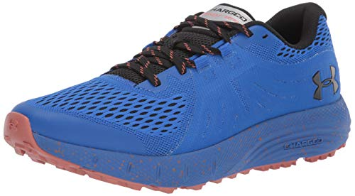 Under Armour Charged Bandit Trail Tenis para hombre, Azul (Versa Blue (401)/Negro), 42.5 EU