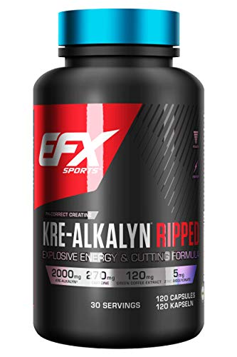 EFX Kre-Alkalyn Ripped 120 Caps