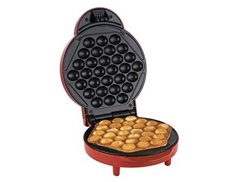 Korona 41005 Bubble-Waffelmaker | Eierwaffeln | 1000 Watt | Waffeldurchmesser 18 cm | automatische Temperatureinstellung