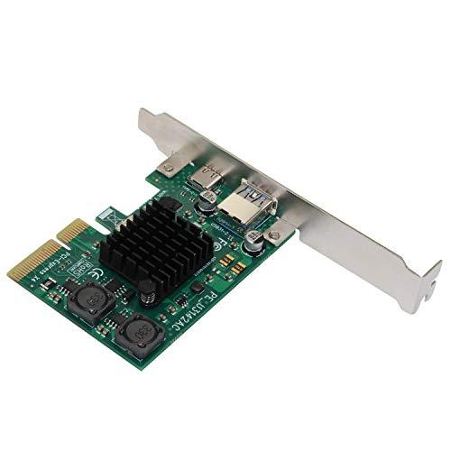 BXU-BG PCI-E 4X Express to USB 3.1 Tipo C Tarjeta de expansión con 15 Pin Scie Converter