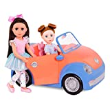 Glitter Girls by Battat - Convertible Car for 14' Dolls - Toys, Clothes & Accessories for Girls 3-Year-Old & Up, Blue, Orange, Pink