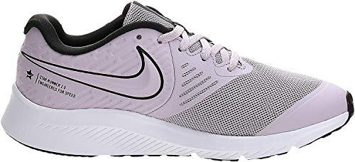 Nike Star Runner 2 (GS), Zapatilla de Correr para Niñas, Ice Lilac/Off Noir-Soar-White, 36 EU