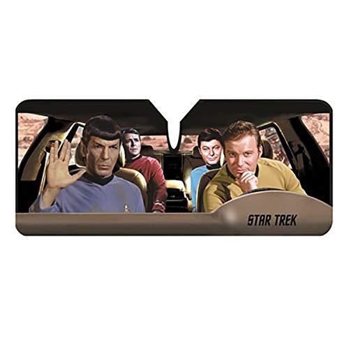 Kirk Spock Passenger Car Shade