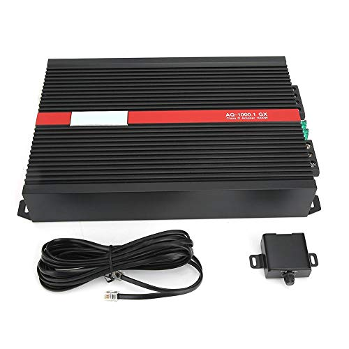 Goregri Car Audio Leistungsverstärker, Car Audio Leistungslautsprecher Verstärker Tragbarer HiFi Subwoofer Stereo Sound System 4 Ohm