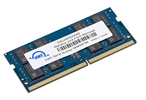 OWC 16GB 2400MHZ DDR4 SO-DIMM PC4-19200 Actualización de Memoria para iMac 2017 de 27 Pulgadas con Pantalla Retina 5K, (OWC2400DDR4S16G)
