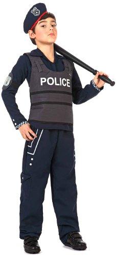 Atosa - 12199 - Costume - Déguisement De Garçon Policier - Taille 4