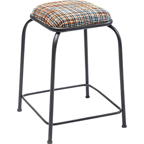 Kare Design Tabourets Campus Mix Orange Set de 2